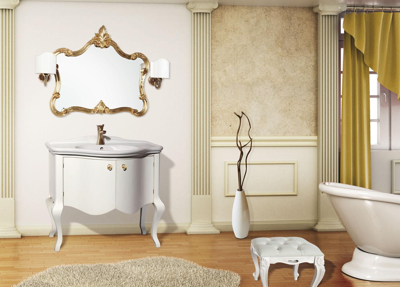 La bussola arredamenti bagni country - Applique bagno specchio ...